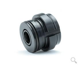 Bruker und Guenter automotive piston for convertible top hydraulic system